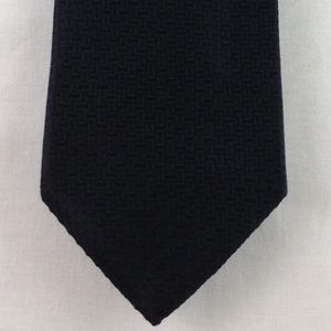 "Hugo Boss Black Silk Geometric Tie 58"" x 3.5"""